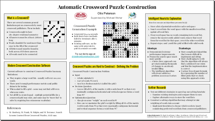 Image of poster presented at NCUR 2021 (source https://www.crosswordconstruction.com)